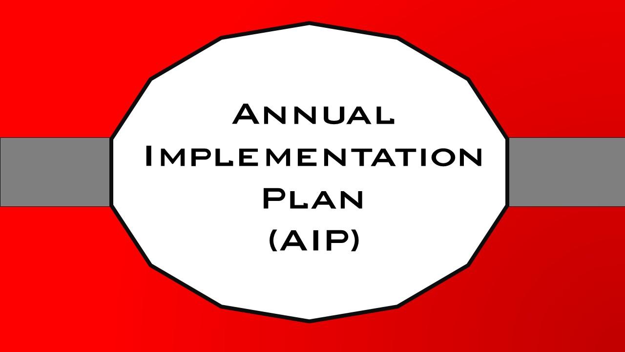 Implementation Plan | Annual Implementation Plan Epsom Primary School